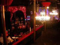 The Red Devil Lounge is a very cool club with a great vibe.  This shot is before the doors opened.