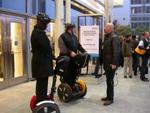 Woz on his Segway