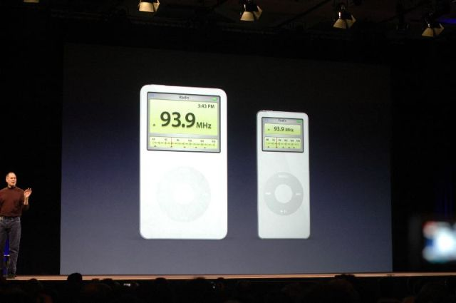 iPod Radio Remote station info.