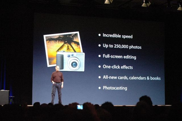 iPhotos new features.