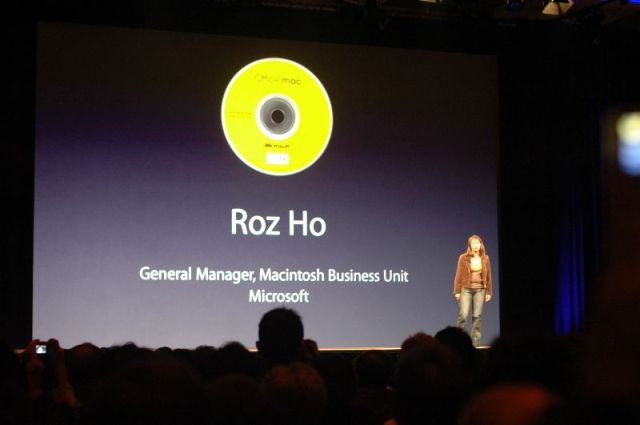 Roz Ho of the Microsoft Business Unit.