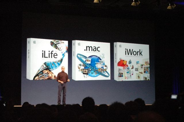 Apple's three consumer software bundles.