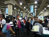 Busy Exhibit Hall