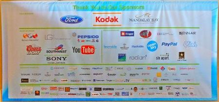 Sponsors (Can You Find MGG?)