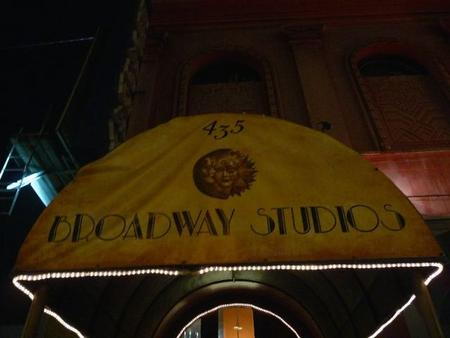 Broadway Studios, our venue for the night's festivities
