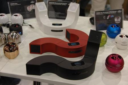 More Bluetooth speakers—they sounded very big on the show floor.