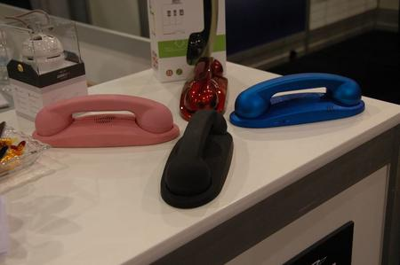 These are USB headsets. A great idea!
