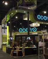 Odoyo had a very attractive booth...