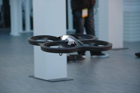 And, just because it's cool and we want one, it's a smartphone-controlled RC helicopter.