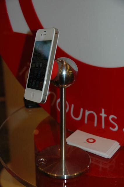 iOmounts has a clever solution for mounting your iPhone/iPad (or any device). We'll have a full article on it, too.