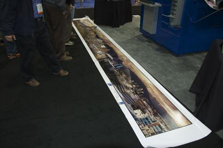 ZBE was demonstrating this massive panoramic shot that was printed on one sheet of paper.