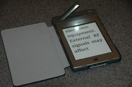 SolarFocus introduced SolarKindle, a solar powered Kindle case (with a light). The solar cells are on the front of the case.
