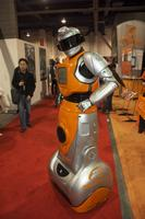 Alibaba.com was using this robot to attract crowds (it worked!).