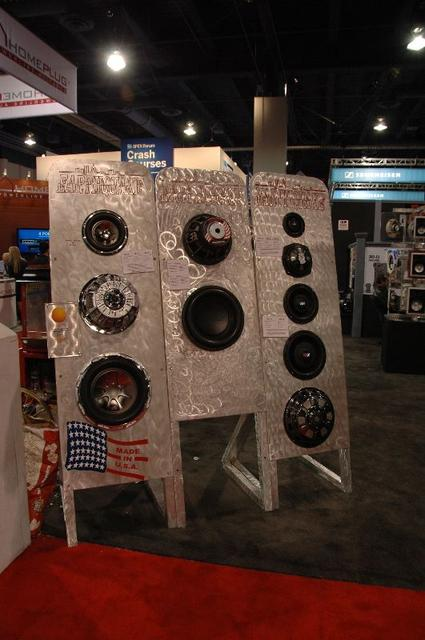 More speakers from Earthquake Sound.