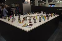 You'd need Deep Blue to count how many iPhone cases were on display. Here's a tiny fraction of them.