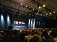 365 Million iOS Devices Sold