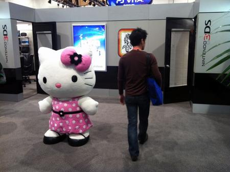 At CES, a Life-Size Hello Kitty Doesn't Warrant Even a Glance