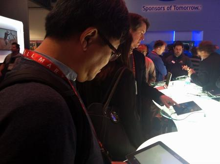 People Checking Out Windows 8 Devices