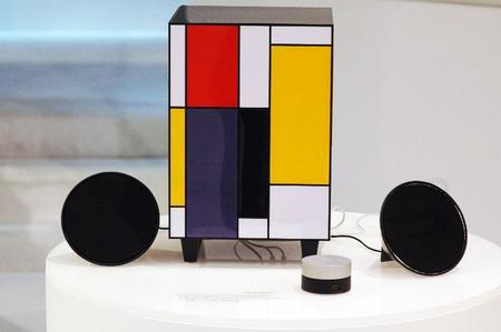 Mondrian-Inspired Speakers from Edifier