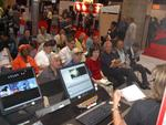 Adobe's free demonstrations were a popular attraction at DV Expo