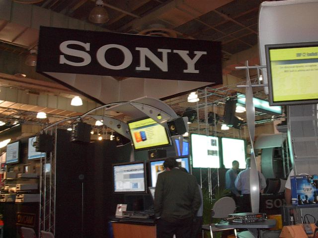 Sony showed their complete line of propsumer and professional video solutions