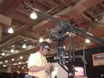 The EZFX Jib and Handle was on display