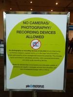 No Photos at PhotoPlus?
