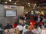 Adobe's demos were a popular place at DV Expo