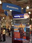 Panasonic - an Apple video partner - was another DV Expo exhibitor
