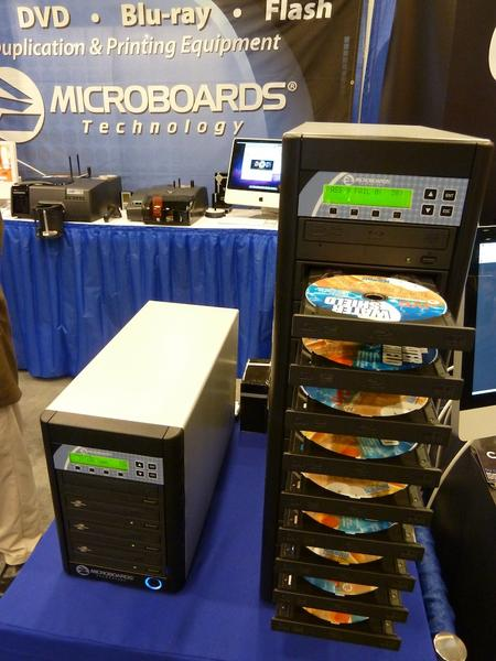 Disc Duplicators from Microboards