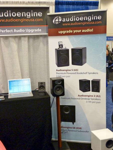 A5, A2 and AS8 Speakers from Audioengine