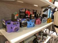 Colorful Holga Film Cameras