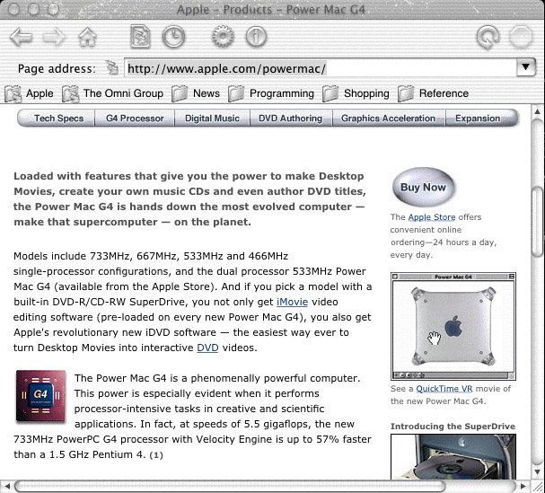 Mac OS X's Quartz Imaging Technology At Work (With Pics) – The Mac