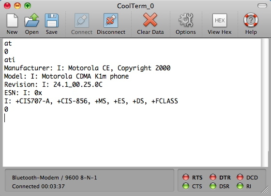 Want to Talk to Your Mac's Serial Port? Check Out CoolTerm