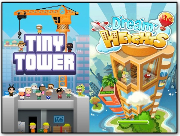 Tiny Tower vs Dream Heights