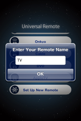 POWER A Naming a remote