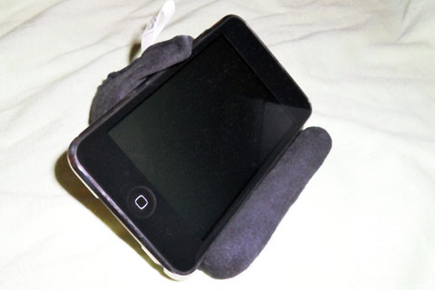 moviewedge with iPod touch
