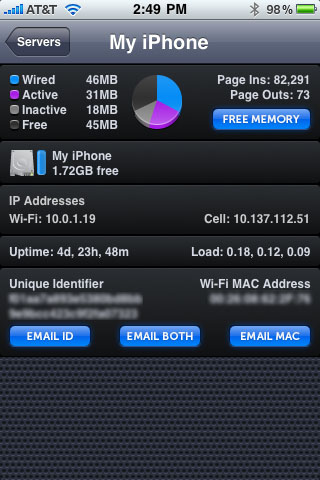 iStats for iPhone
