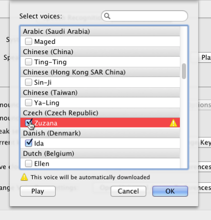 New Voices in Lion