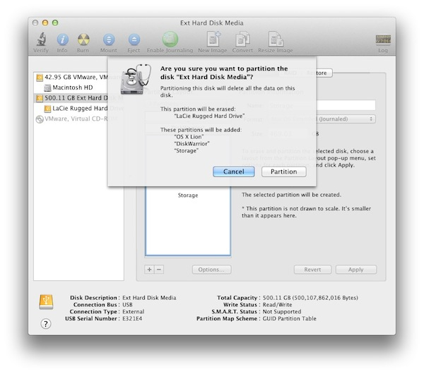 Apple the Partitions