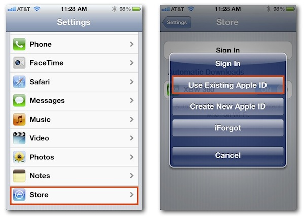 How to Access The App Store From Another Apple ID in iOS