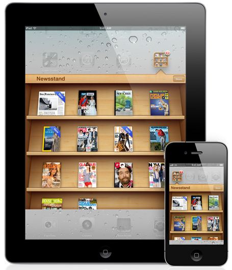 iOS 5 Newsstand