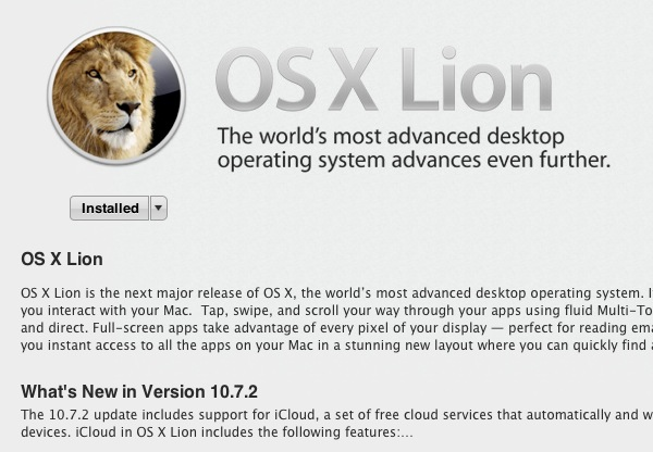 Download and install old versions of os x on a mac.