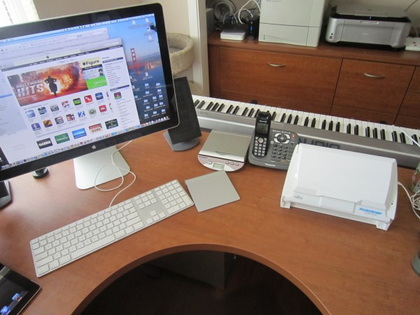 Ted Landau Workspace