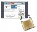 Web browser padlock