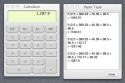 Apple Calculator OS X Paper Tape