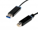 Corning Optical USB Thunderbolt Cables CES
