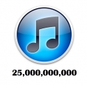 iTunes 25 billion