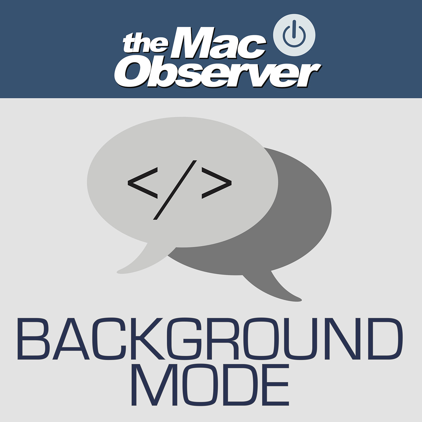 The Mac Observer's Background Mode Podcast
