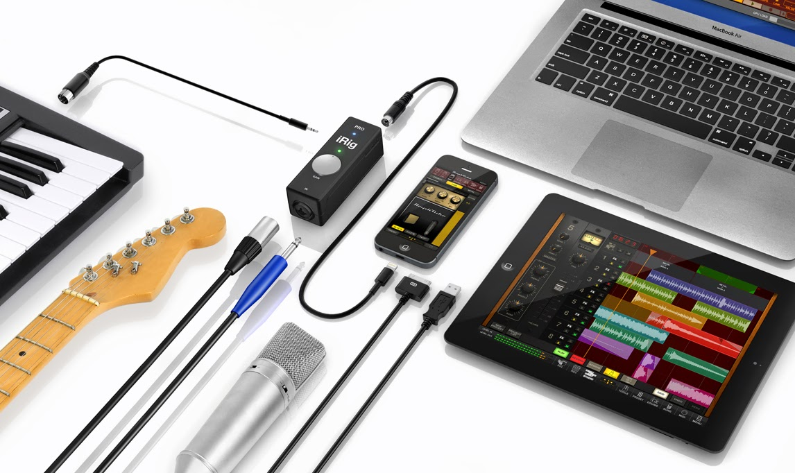 Irig Pro An Impressive All In One Audio Interface That